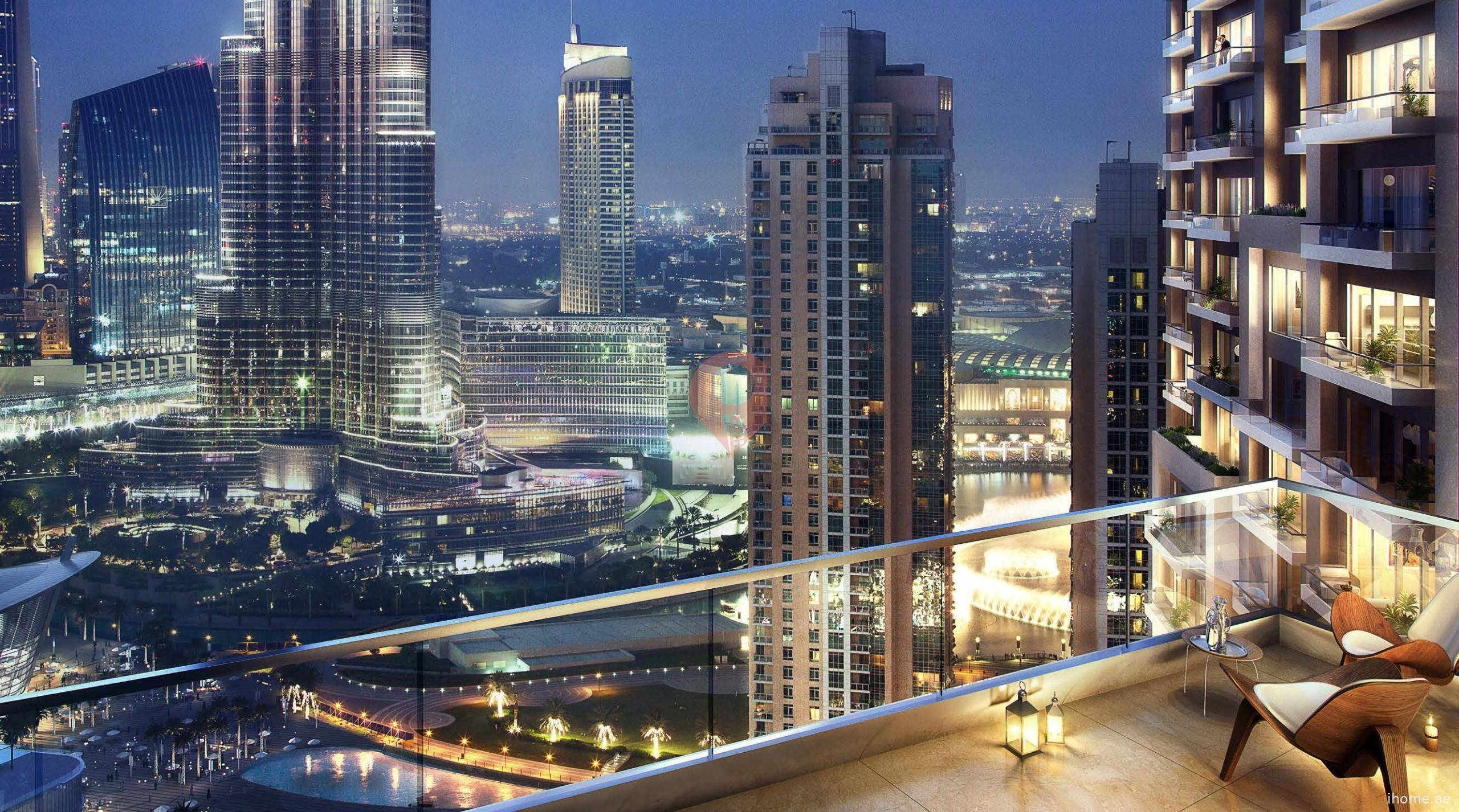 Act One Act Two Tower in Downtown Dubai for sale