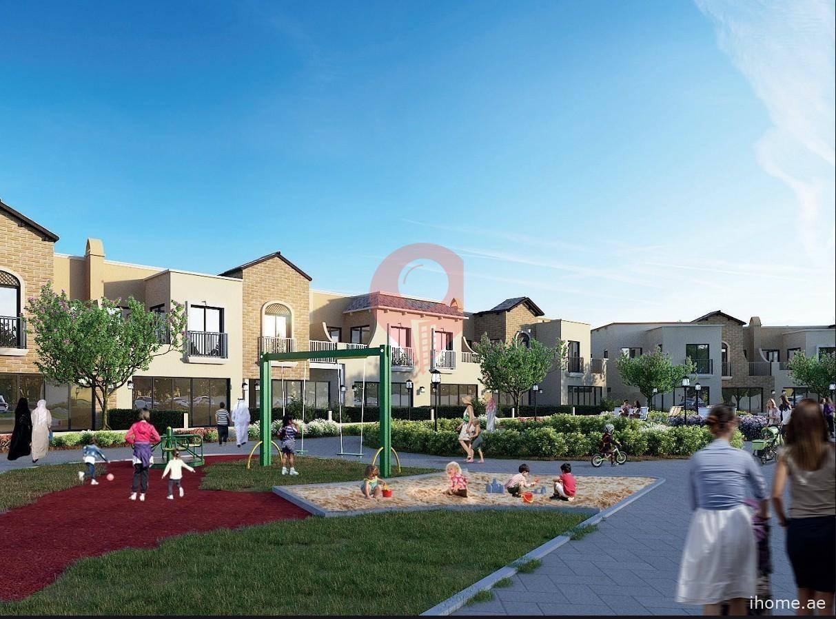 Zafran Town Homes Jumeirah Golf Estate Zafran Townhouses